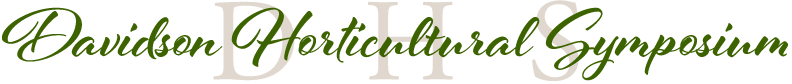 Davidson Horticutural Symposium